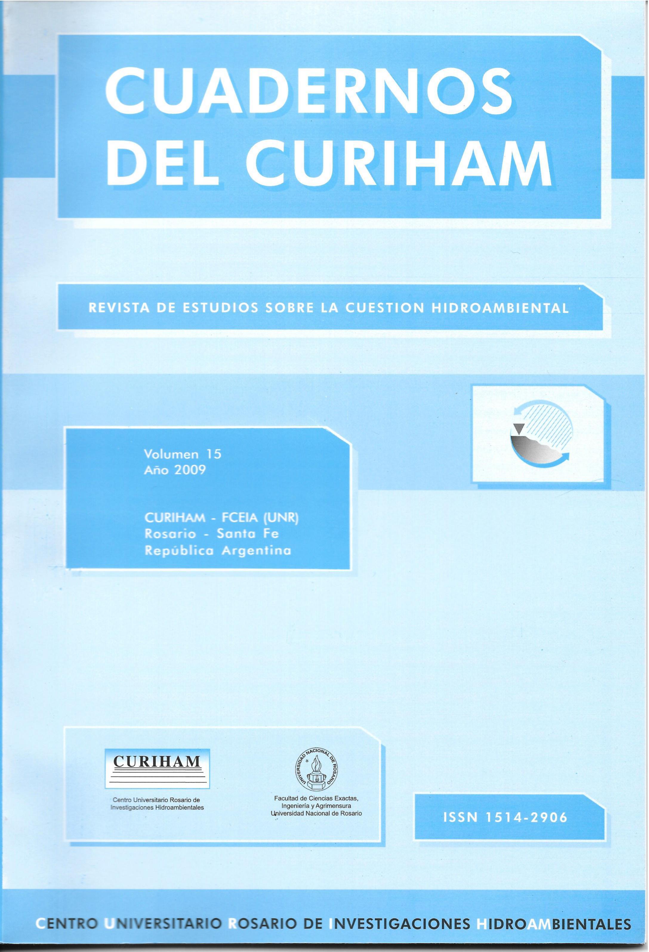 Ver Vol. 15 (2009)
